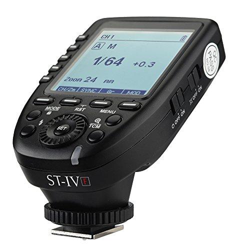 PIXAPRO Pro ST-IV - Transmisor de flash de radio frecuencia de 2,4...