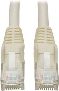 كابل توصيل مقولب بتقنية Cat6 Gigabit من شركة Tripp Lite RJ45M/M 2-ft. N201-002-WH