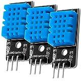 AZDelivery 3 x KY-015 Módulo del Sensor de Temperatura DHT11 Compatible con Arduino con E-Book Incluido!