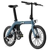 Coolautoparts Bicicleta Eléctrica Plegable 20 Pulgadas 250W 30km/h Ciclomotor Bicicleta de...