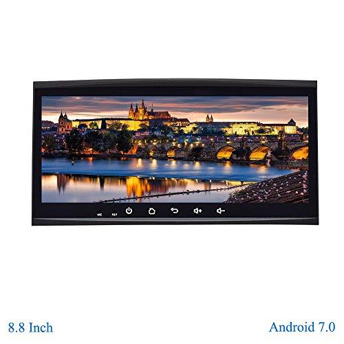 """XISEDO Android 7.1 Autoradio 8.8 Pulgadas Radio de Coche Estéreo Car Radio Navegación de Automóvil con Pantalla Táctil 8.8"""" para Volkswagen Touareg/ T5 Multivan/Transporter (Autoradio)"""