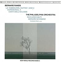 Rands: Orchestral Works- Le Tambourin, Suites 1 and 2 / Ceremonial 3 / Canti Dell'Eclisse by Phl (1995-04-16)
