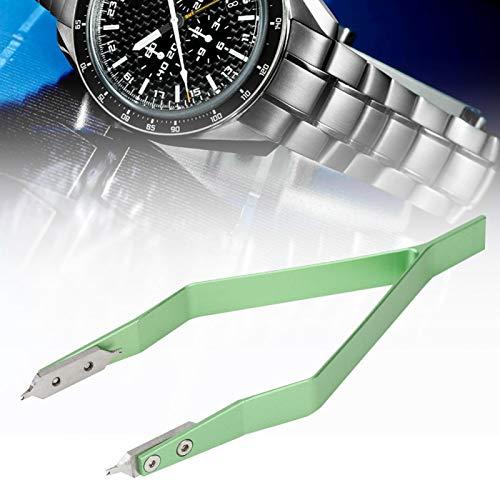 Barra de resorte, alicates estándar Herramienta de barra de resorte de reloj Removedor de barra de resorte de reloj Herramienta de reemplazo en forma de V para kit de reparación de reloj
