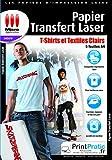 Micro applicazione–Carta da disegno–Trasferimento Tessile Laser, 5 Pezzi