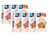 Kölln Muesli de Avena con Frutas, Cereales Integrales, Avena con Pasas Sultanas, dátiles, manzana, albaricoque y frambuesa, Pack 7 x 500 g