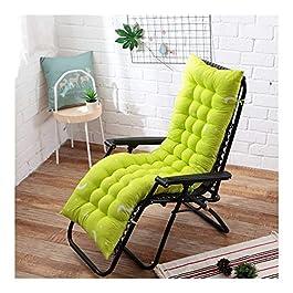 Coussin de chaise de décoration de bureau à domici Coussin longue Recliner Rocking Chair Coussin épais coussin d'assise…