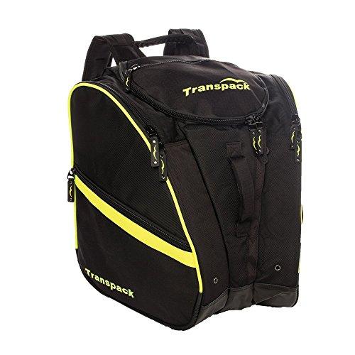 Transpack TRV Pro Ski Boot Bag 2017 Black Yellow Electric