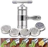 Máquina manual para hacer pasta y exprimir jugos, manivela de espagueti, herramienta de cocina, máquina de prensar pasta
