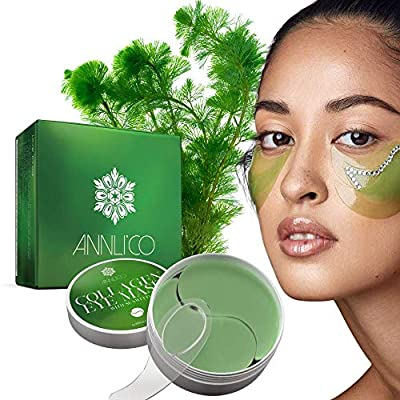 Annli'Co Collagen Eye Mask 30Pairs 100% Vegan-Cruelty Free- Under Eye Patches effectively eliminate Edema Eye Bag,Dark Circles,Wrinkles and Fine Lines-with Hyaluronic Acid-Anti Ageing. from Annli'Co