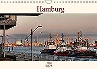 Hamburg Hafen (Wandkalender 2022 DIN A4 quer): Stimmungsvolle Bilder von Schiffen und der Elbe aufgenommen im Hamburger Hafen (Monatskalender, 14 Seiten )