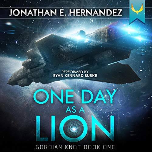 One Day as a Lion Audiobook By Jonathan Hernandez cover art
