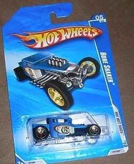 HOT WHEELS 2010 HOT RODS 05 OF 10 BLUE BONE SHAKER