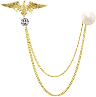 Best eagle brooch with pearl Reviews