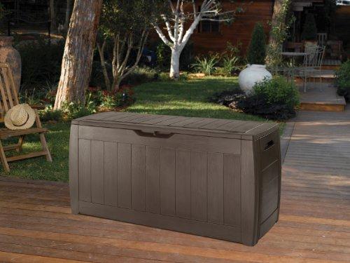 Keter Kissenbox Hollywood Box, braun, 270L, 118cm - 6