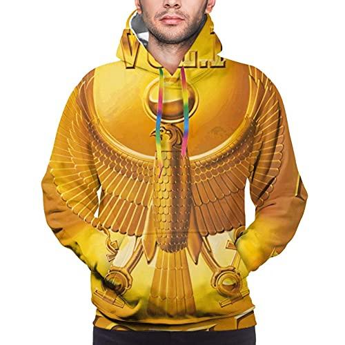 hengtaichang Earth Wind & Fire Mens Hoodie Sweatshirt 3D Printed Hooded Sweatshirt