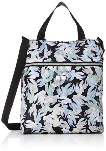PUMA WMN Core Seasonal Shopper Puma Black-Leaf Aop
