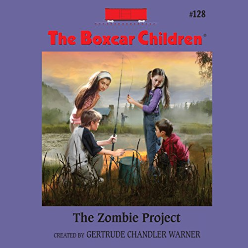 The Zombie Project audiobook cover art
