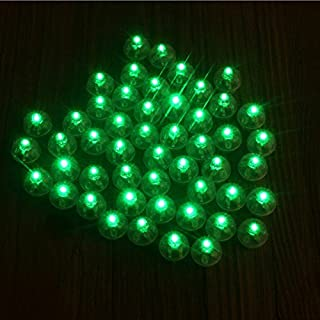 Neo LOONS 100pcs/lot 100 X Green Round Led Flash Ball Lamp Balloon Light Long Standby time for Paper Lantern Balloon Light Party Wedding Decoration