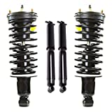 Detroit Axle - 4PC Front Strut & Coil Spring and Rear Shock Absorber Assembly for 2004 2005 2006 2007 2008 2009 2010 2011 2012 Chevy Colorado GMC Canyon 2WD