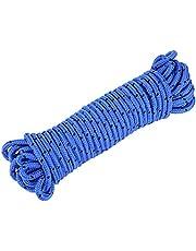Dilwe Cuerda de Escalada, Cable de Fibra de Polipropileno Protección contra caídas Cordón Tienda Tienda Cuerda para Exterior