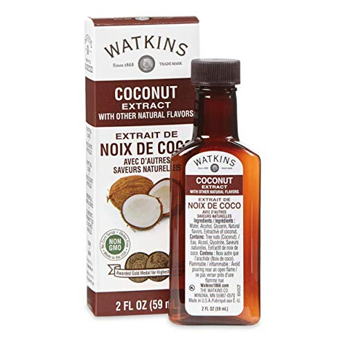 Watkins Coconut Extract with Other Natural Flavors 2 Ounce