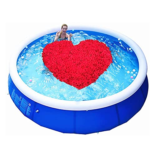 ZHANGLE Piscinas Piscina sobre el Suelo, Piscina Inflable portátil, Centro de natación Familiar de tamaño Completo, para niños Adultos al Aire Libre 183X76cm