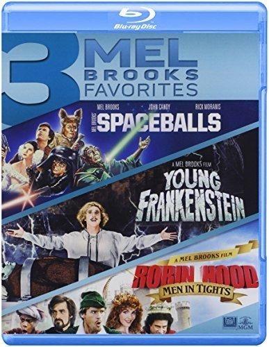 Spaceballs / Young Frankenstein / Robin Hood [Edizione: Stati Uniti] [Italia] [Blu-ray]