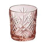 Arcoroc Set 6 bicchieri in vetro resistente forma bassa 30 CL BROADWAY ROSA ARC