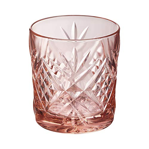 Arcoroc Set 6 vasos de vidrio resistente forma baja 30 CL BROADWAY ROSA ARC