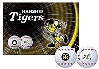 ダンロップ(DUNLOP) ゴルフボール ゼクシオ エックス 阪神タイガース コラボレーションボール 6個入り ホワイト