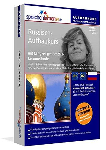Russisch-Aufbaukurs: Lernstufen B1+B2. Lernsoftware auf CD-ROM + MP3-Audio-CD für Windows/Linux/Mac OS X. Fließend Russisch lernen für Fortgeschrittene mit Langzeitgedächtnis-Lernmethode