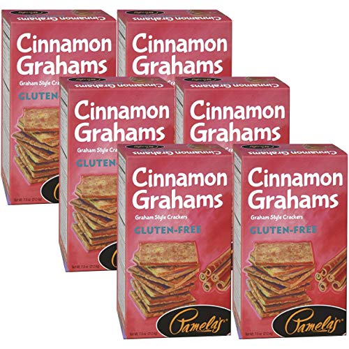 Pamela's Products Gluten Free Graham Crackers, Cinnamon(Pack of 6) by Pamela's Products
