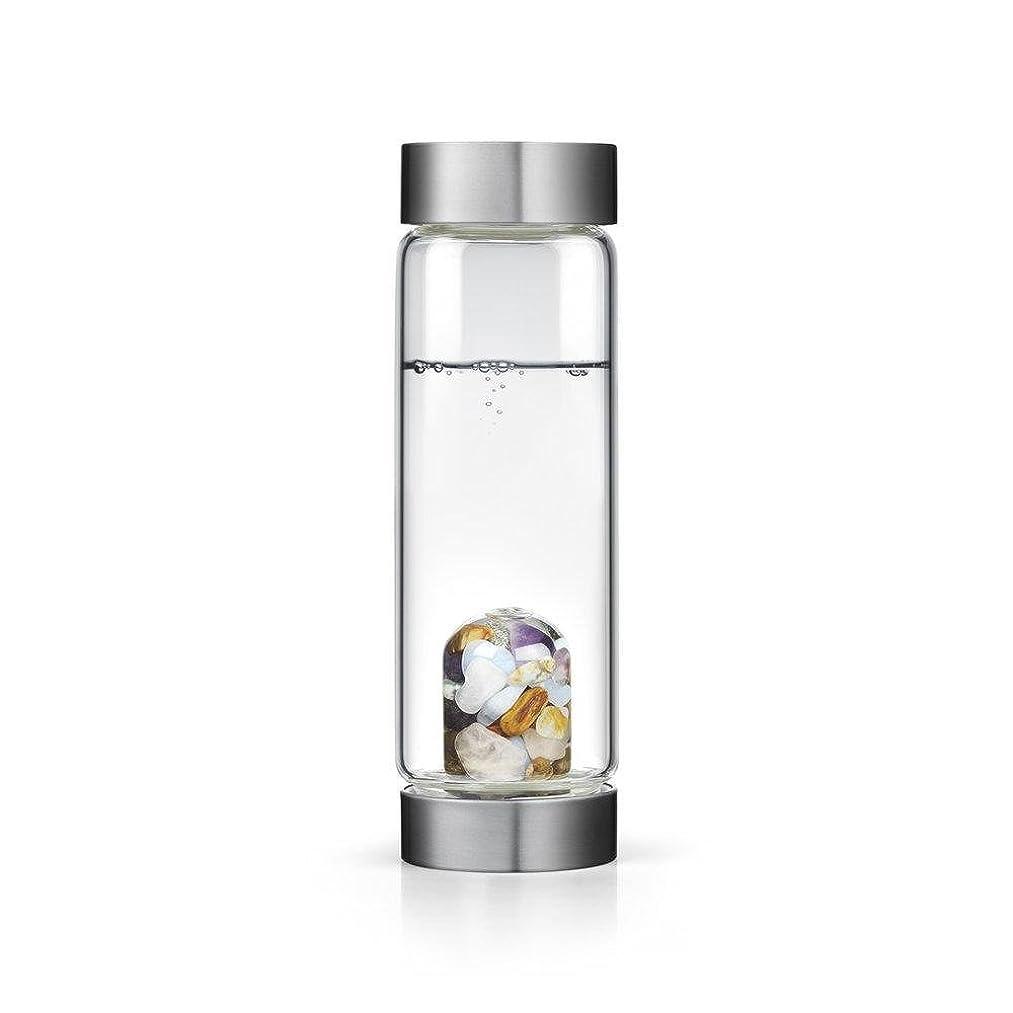 四分円記念マイコンFive Elements gem-waterボトルby VitaJuwel W / Freeカリフォルニアホワイトセージバンドル 16.9 fl oz