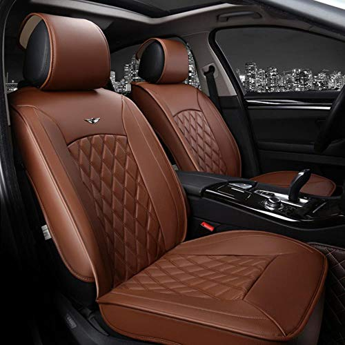 HTRO Luxury car Seat Cover universal =Sport car seat Covers Whole Surrounded Car Seat Cushion,Gray
