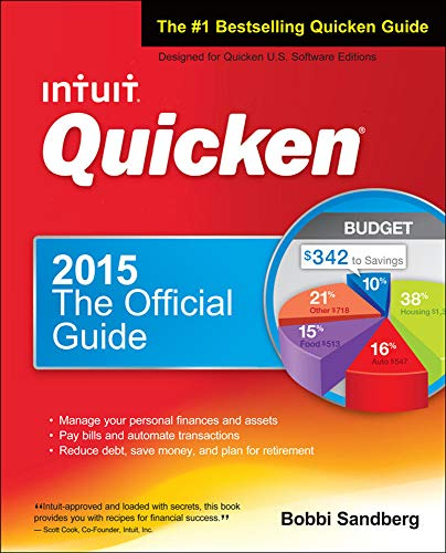 Quicken 2015 The Official Guide for Windows!
