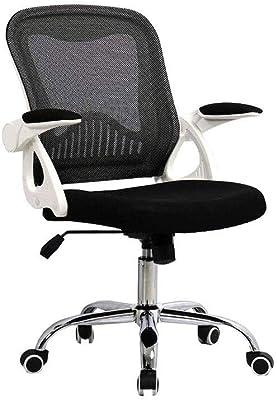 ZLSP Cadeira de escritório giratória de 360 graus ergonômica de tecido de malha traseira alta executiva cadeira de mesa de computador - suporte lombar (cor: B)