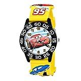 [ディズニー]Disney 男の子 カーズ 3D イエロー ブラック ベルト W001505 腕時計 [並行輸入品]