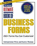 Ultimate Book of Business Forms: 250+ Forms You Can Customize (Ultimate Series)