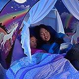 Traumzelt Bettzelt Spielhaus Zelt Spielhaus Erscheinen Dream Tents Drinnen Kinder Spielen Zelt Kinder (Einhorn) Licht ist Nicht Enthalten - 5