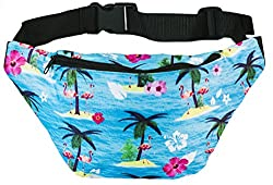 Funny Guy Mugs Premium Tropical Island Fanny Packs (Multiple Styles Available)