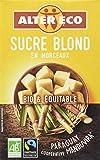 Alter Eco Sucre Blond Pure Canne en Morceaux Bio et Equitable 500 g