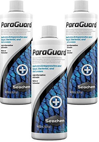 Seachem ParaGuard 500ml Bottles (3 Pack)
