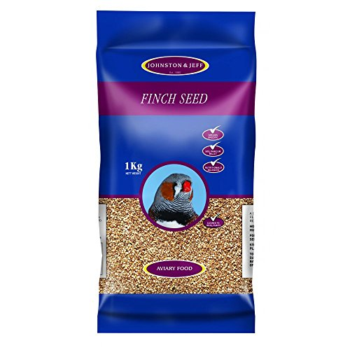 Johnston & Jeff Foreign Finch Seed Bird Food 1kg