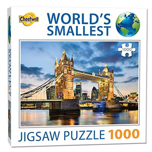 Cheatwell Games Jigsaw WS Puzzle Tower Bridge 6 Stück (13954), verschieden