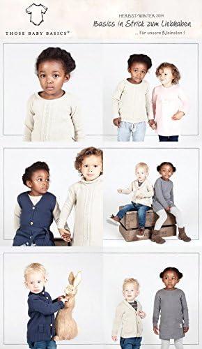 Those Baby Basics 1209 M/ädchen Pullover Strickpullover Gr 98-116