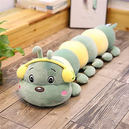 N / A Orugas Juguetes de Peluche para niños Almohada de Felpa Suave muñeca de Animales niños niñas cojín de Juguete para niños Regalos 45cm