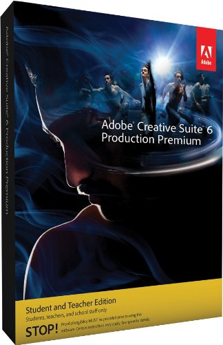 Adobe Creative Suite 6 Production Premium Student and Teacher englisch MAC