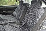 tierlando Autoschondecke REX teilbar Reißverschluss Schutzdecke Auto 160 180 200 x 140cm: Größe: SMR 180 cm | Farbe: 02 Graphit