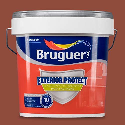 Bruguer Exterior Protect Revesimiento exterior Liso Extra Terracota, 4 litros