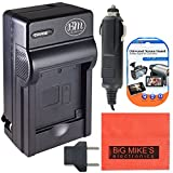 BM Premium NB10L Battery Charger for Canon PowerShot G15, G16, G1 X, G3-X, SX40 HS, SX50 HS, SX60 HS Digital Camera (CB-2LC Replacement)